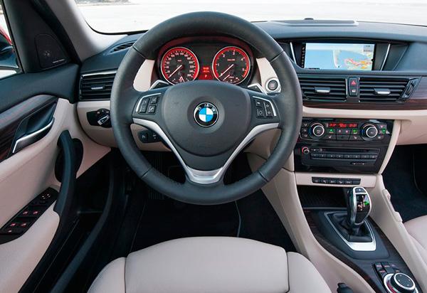 Interior BMW X1 2013